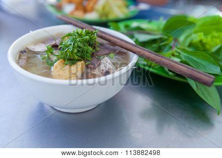 Pho, famous vietnamse noodle soup