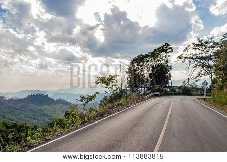 Road On The Hill