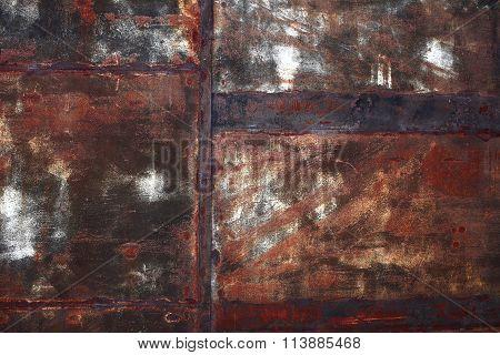 Rusted Iron Sheet