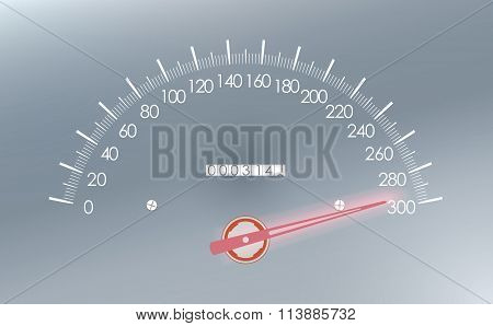 Maximum Speed On The Speedometer