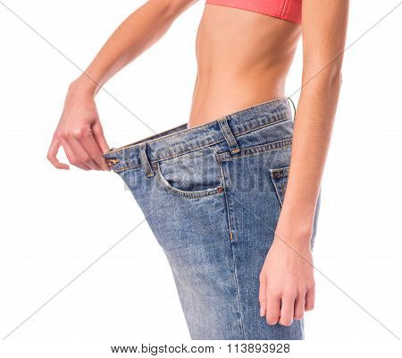 Woman With Jeans