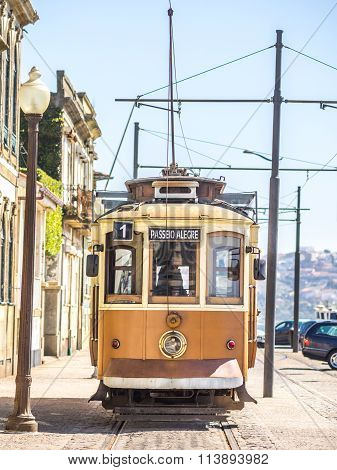 Porto Trams Ride (text Translation: