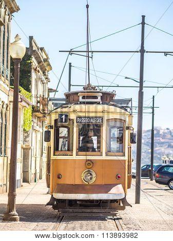 Porto Trams Ride (text Translation: