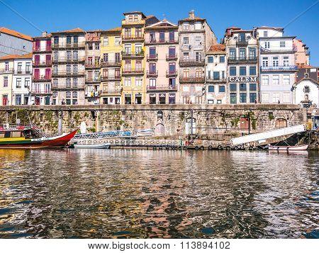 Porto Over Douro River