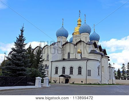 Cathedral Of The Annunciation In The Kazan Kremlin