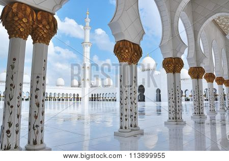 Minaret, Grand Mosque Abu Dhabi