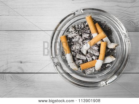 Ashtray.