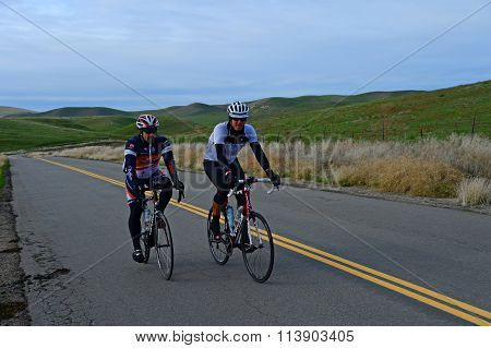 Cyclists on Training Ride
