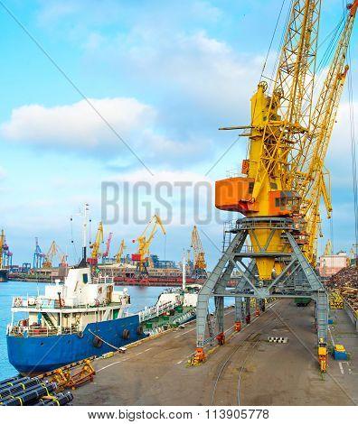 Odessa Sea Port, Ukraine