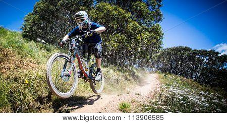 Mountain Bike Riders at Mt Buller