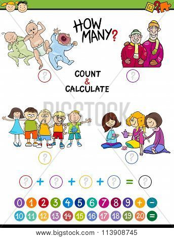 Mathematical Game For Preschoolers