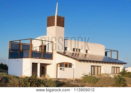 TENERIFE SPAIN - JANUARY 3: Bioclimatic Houses in the South of the island of Tenerife
