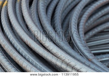 Steel Rods Or Bars For Construction