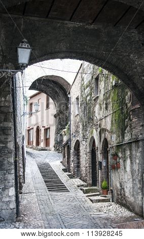 Narni in the province of Terni in Italy