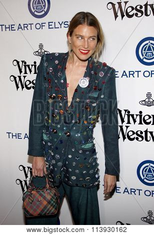 Dree Hemingway at the Art Of Elysium's 9th Annual Heaven Gala held at the 3LABS in Culver City, USA on January 9, 2016.