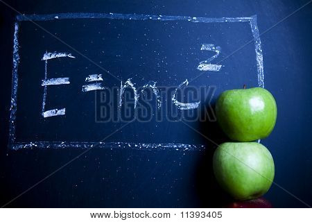 Emc2, education Concept