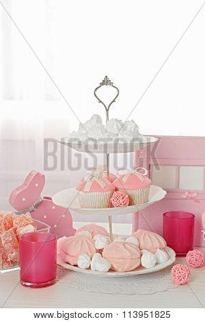 Candy bar at Birthday party for little girl