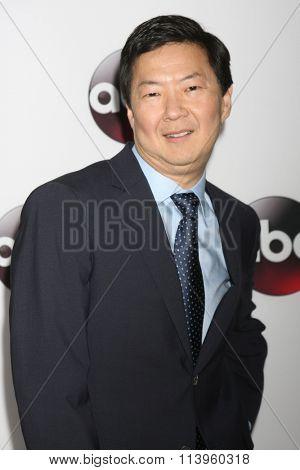 LOS ANGELES - JAN 9:  Ken Jeong at the Disney ABC TV 2016 TCA Party at the The Langham Huntington Hotel on January 9, 2016 in Pasadena, CA