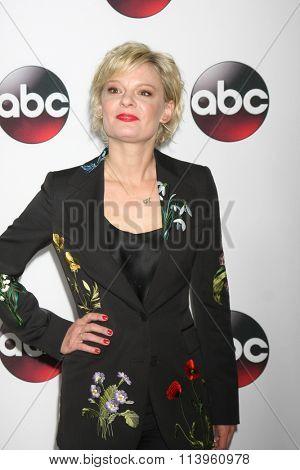 LOS ANGELES - JAN 9:  Martha Plimpton at the Disney ABC TV 2016 TCA Party at the The Langham Huntington Hotel on January 9, 2016 in Pasadena, CA