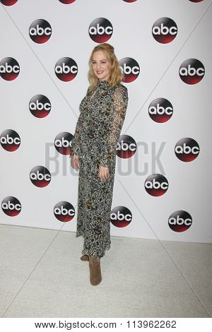 LOS ANGELES - JAN 9:  Wendi McLendon-Covey at the Disney ABC TV 2016 TCA Party at the The Langham Huntington Hotel on January 9, 2016 in Pasadena, CA