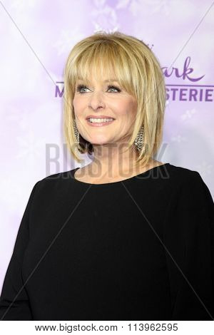 LOS ANGELES - JAN 8:  Cristina Ferrare at the Hallmark Winter 2016 TCA Party at the Tournament House on January 8, 2016 in Pasadena, CA