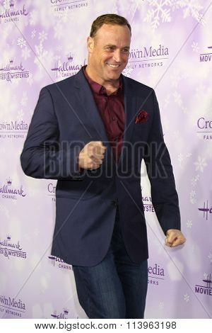 LOS ANGELES - JAN 8:  Matt Iseman at the Hallmark Winter 2016 TCA Party at the Tournament House on January 8, 2016 in Pasadena, CA