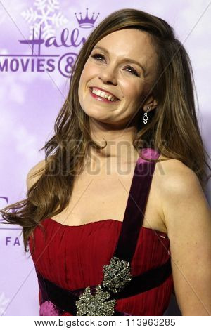 LOS ANGELES - JAN 8:  Rachel Boston at the Hallmark Winter 2016 TCA Party at the Tournament House on January 8, 2016 in Pasadena, CA
