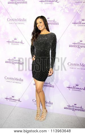 LOS ANGELES - JAN 8:  Kristin Smith at the Hallmark Winter 2016 TCA Party at the Tournament House on January 8, 2016 in Pasadena, CA