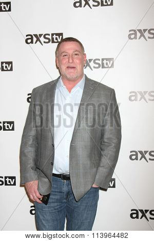 LOS ANGELES - JAN 8:  Jeff Cuban at the AXS TV Winter 2016 TCA Cocktail Party at the The Langham Huntington Hotel on January 8, 2016 in Pasadena, CA