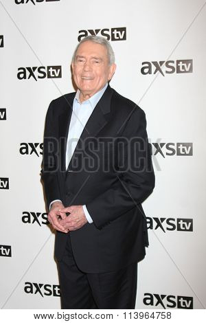 LOS ANGELES - JAN 8:  Dan Rather at the AXS TV Winter 2016 TCA Cocktail Party at the The Langham Huntington Hotel on January 8, 2016 in Pasadena, CA