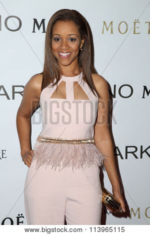 LOS ANGELES - JAN 7:  Chrystee Pharris at the Mark Zunino Atelier Opening at the Mark Zunino Atelier Boutique on January 7, 2016 in Beverly Hills, CA