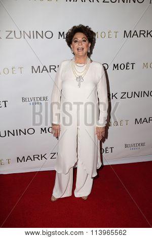 LOS ANGELES - JAN 7:  Sandra Moss at the Mark Zunino Atelier Opening at the Mark Zunino Atelier Boutique on January 7, 2016 in Beverly Hills, CA