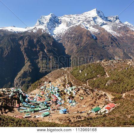 Namche Bazar And Mount Kongde, Sagarmatha National Park