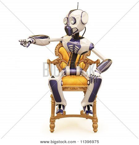 Robot And Chair
