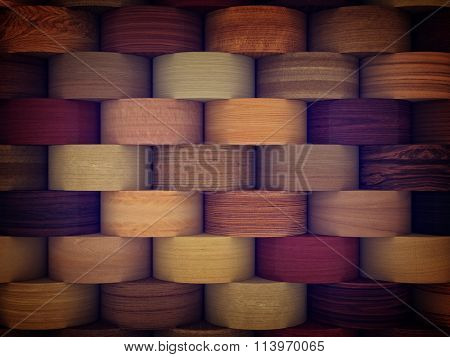 collection of different veneer background