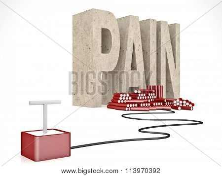 3d pain word and tnt solution