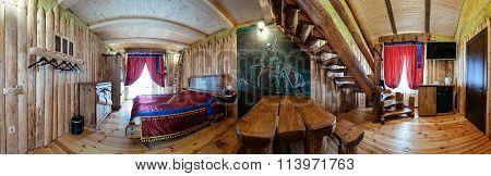 Unique ethnic interior