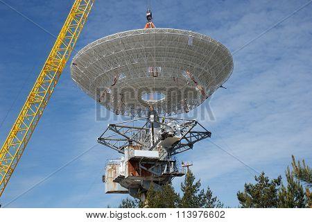 satellite centre construction