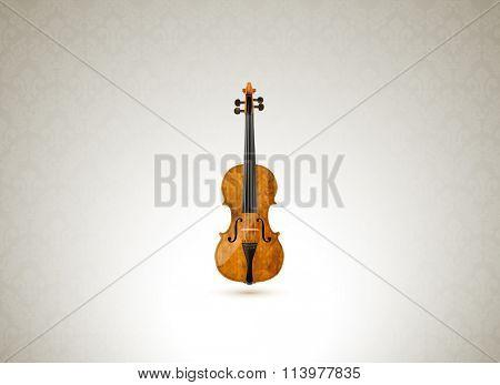 vector violin illustration