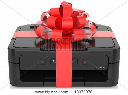 Printer With A Bow