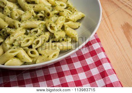 Genovese Pesto Sauce Penne Pasta