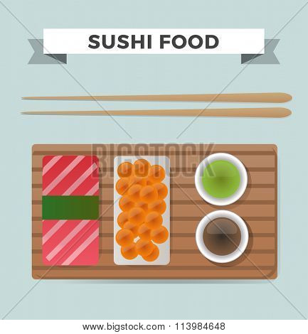Vector sushi and rolls set isolated on white background. Sushi set icons, sushi japanese food. Seafood vector icons, sushi meal menu, traditional sushi isolated. Sushi vector, sushi icons illustration