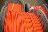 Постер, плакат: Orange Fiber Cables