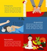 Alternative Medicine And Treatment Clinic For Patient Such As Chiropractic Acupuncture And Naturopat poster