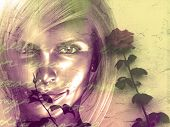 Постер, плакат: Женщина Роуз