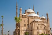 Постер, плакат: Mohammed Ali Or Alabaster Mosque Saladin Citadel Cairo Egypt