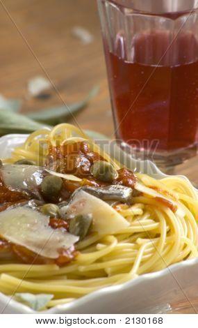 Anchovis Spaghetti