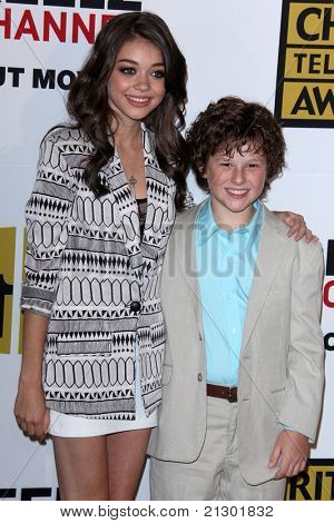 LOS ANGELES - JUN 20:  Ariel Winter, Nolan Gould arrive at the 1st Annual Critics' Choice Television Awards at Beverly Hills Hotel on June 20, 2004 in Beverly Hills, CA
