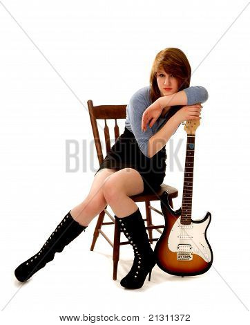 Relaxed Musician