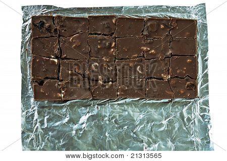 Block Chocolate Brown